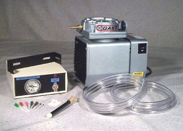 WK-1 Vacuum Pump Workstation Kit