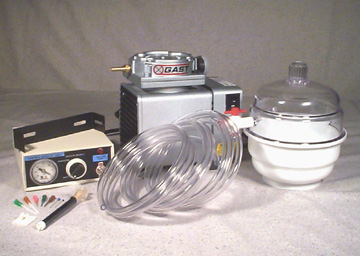 WK-2 Vacuum Pump & Desiccator Workstation Kit